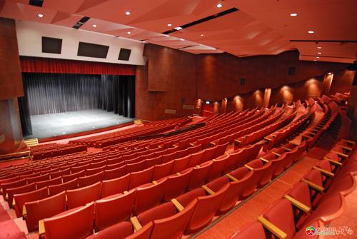 新北市藝文中心演藝廳觀眾席