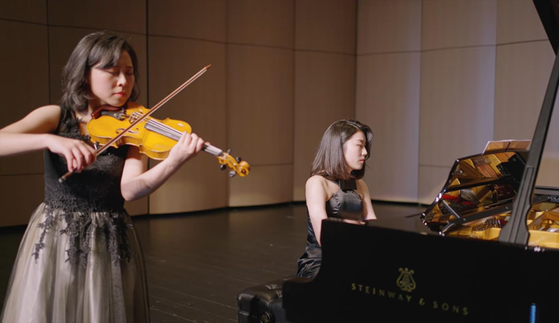 吳怡慧及丁章媛「Duo Renaissance」演出「法國情緣 鋼琴與小提琴的對話」