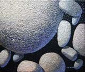宛如照片的寫實技法令人驚艷!「水光石色─乎你平安」林文安油畫個展