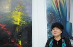 化學老師擺脫小時候的陰影,實現成為藝術家的夢想─「日麗風和─若瑄個展」於新北市藝文中心展出