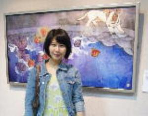 藝術家吳惠淳畫狗療傷 走出迷網朝向希望前進