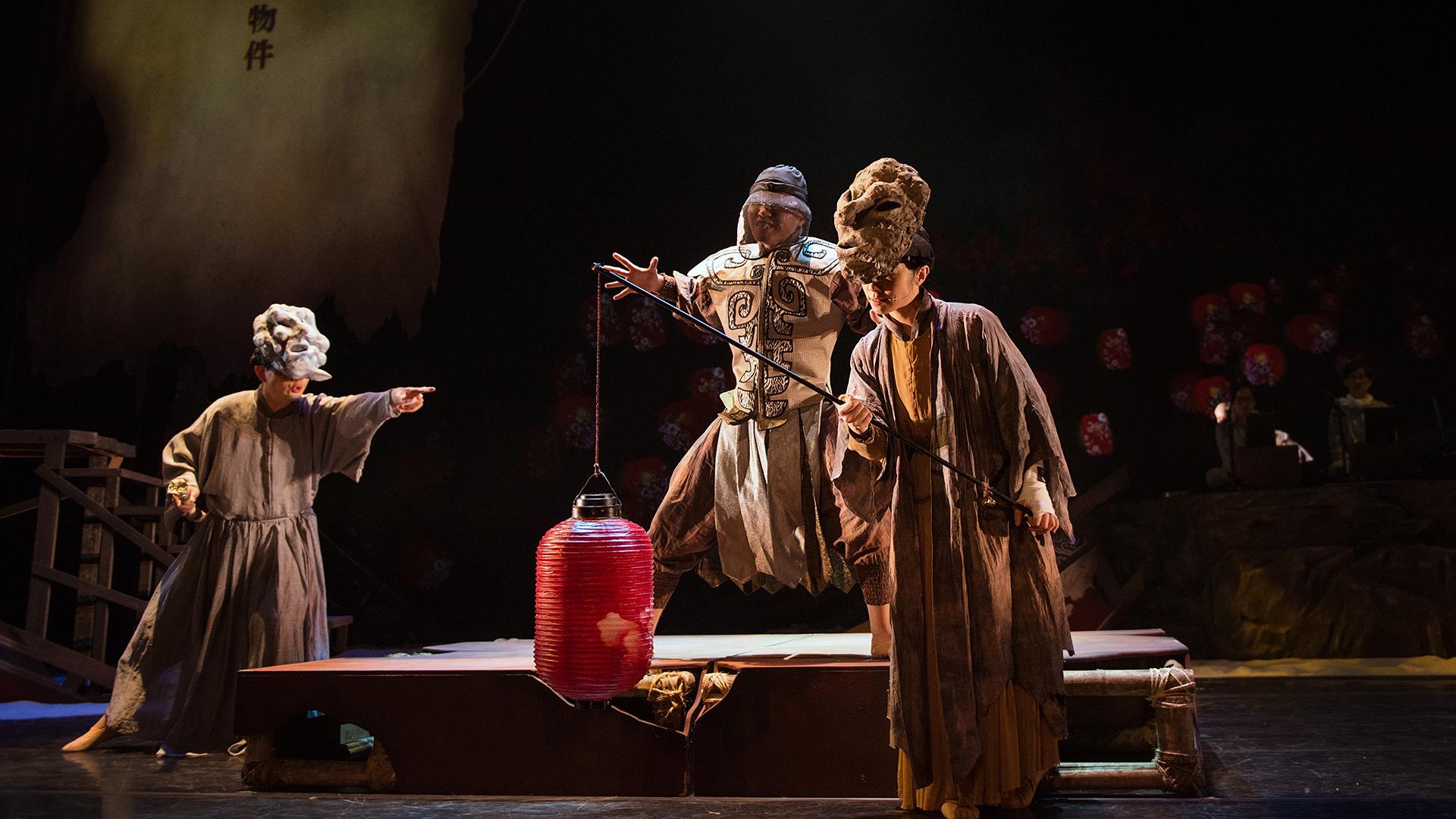 南北管神話音樂劇《蓬萊》新北首演,混搭樂風顛覆傳統,新創肢體全方位挑戰