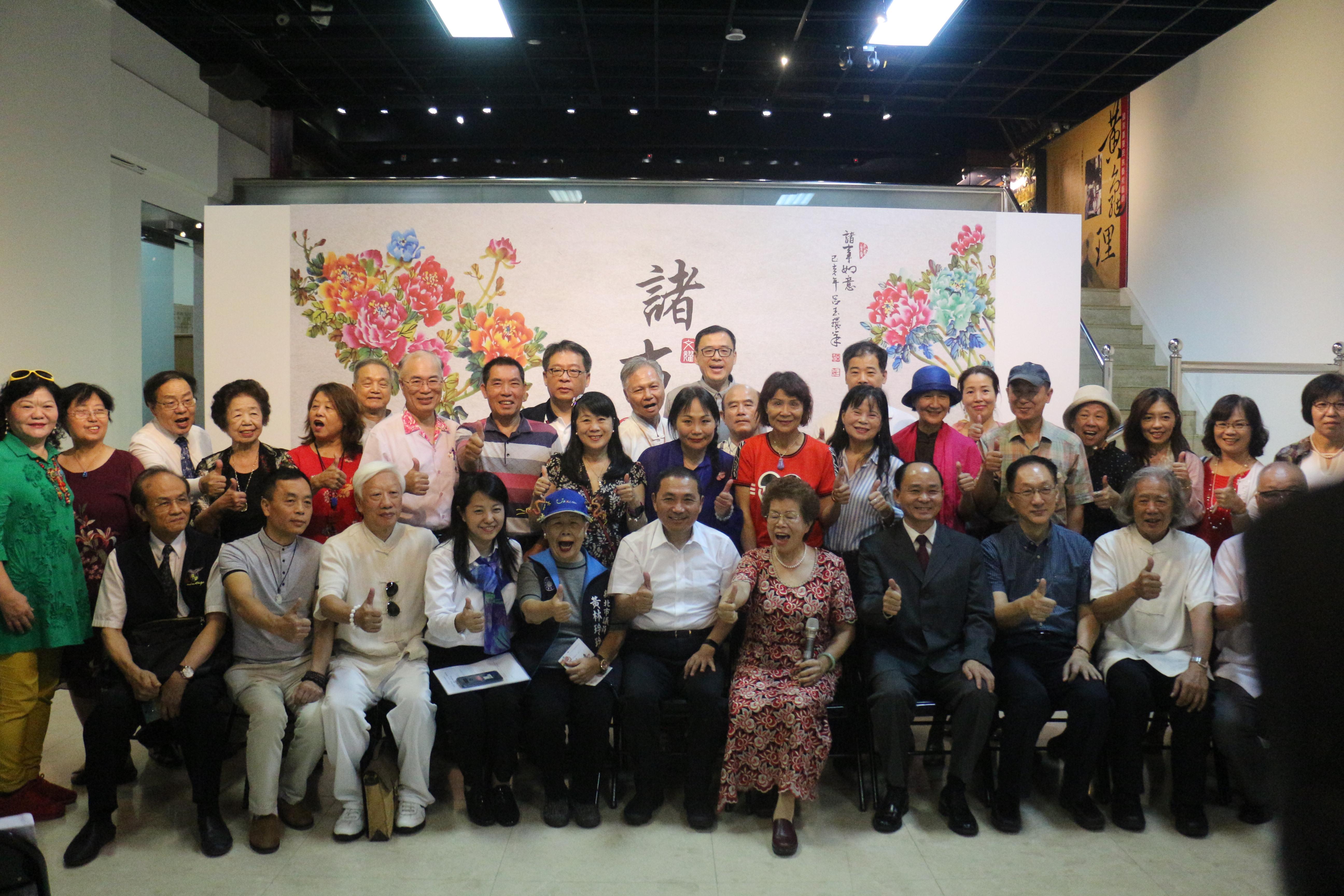 國際藝術聯展 藝術家齊聚新北展出150幅精彩作品