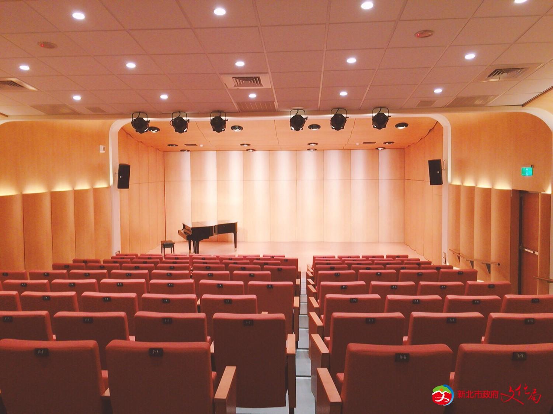新北市藝文中心演奏廳